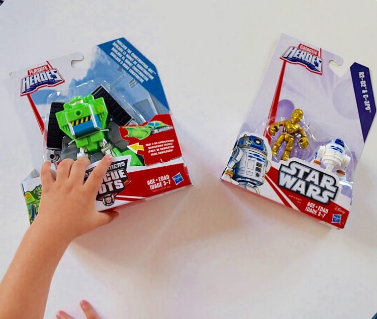 Transformers and Star Wars Toys