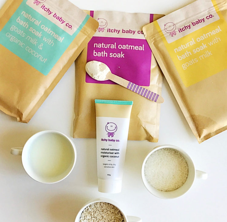 Itchy Baby Co products
