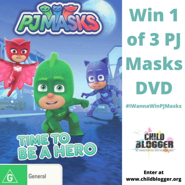 PJ Masks DVD Time to be a Hero