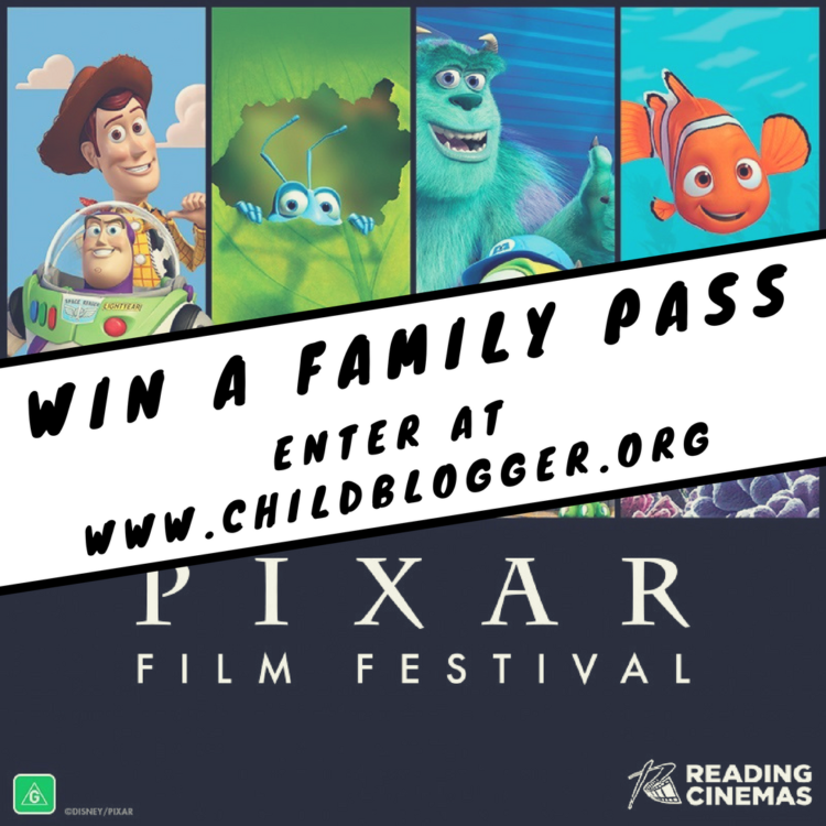 Pixar Film Festival TIcket Giveaway