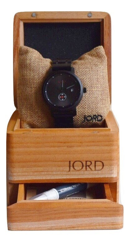 Jord Wooden Watches Packaging