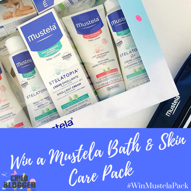 Mustela Bath & Skin Care Giveaway