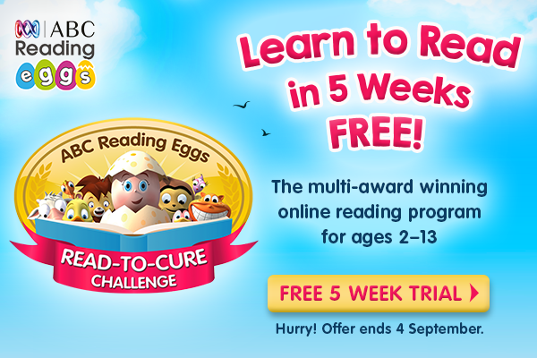 Learn to Read in 5 Weeks Free! - Child Blogger